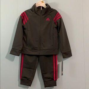3T Adidas track suit